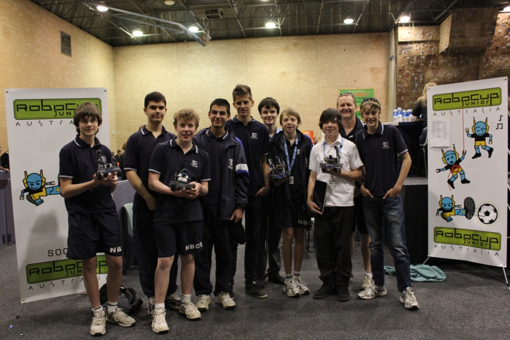 NBCS students qualify to represent Australia in the World Robotics Olympiad