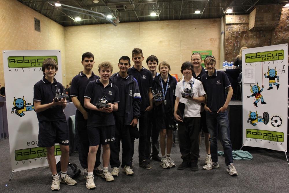 NBCS students qualify to represent Australia in the World Robotics Olympiad