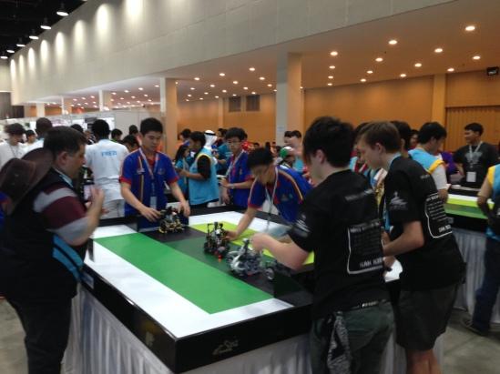 Team R2-D2 against Malaysia